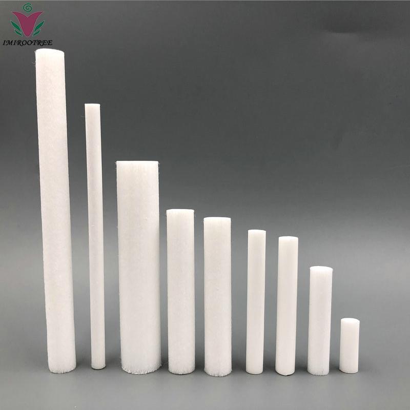 Inaladores de aromaterapia nasal em branco, Inalador nasal em branco Sticks para óleo essencial, Inalador em branco (com algodão Wicks)