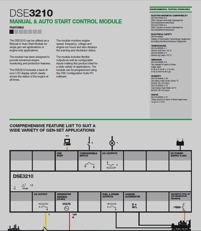 Deep       Sea    Electronics Manual   Auto Start Control Module
