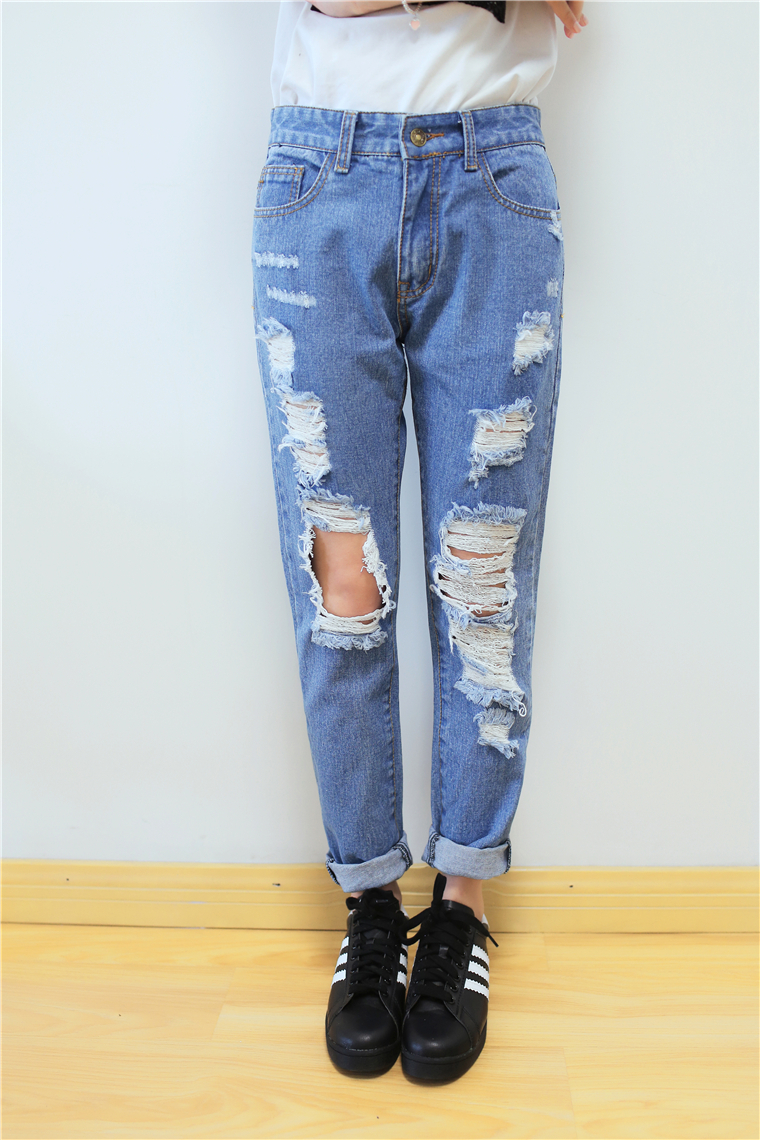 High Waisted Boyfriend Jeans Ye Jean