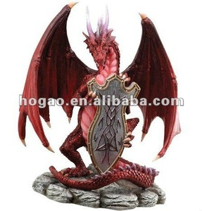 souvenirs,cartoon dragon,resin dragon souvenir