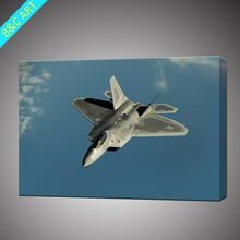 High quality model sky airplane custom canvas print for kids gift