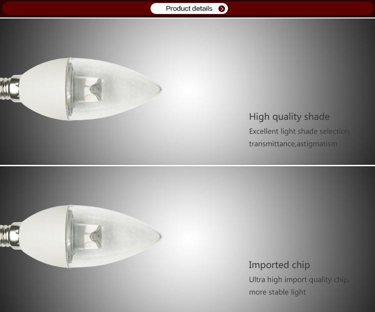 Led bulb with light guide rod 3w buy led bulb with light for Led bulb buying guide