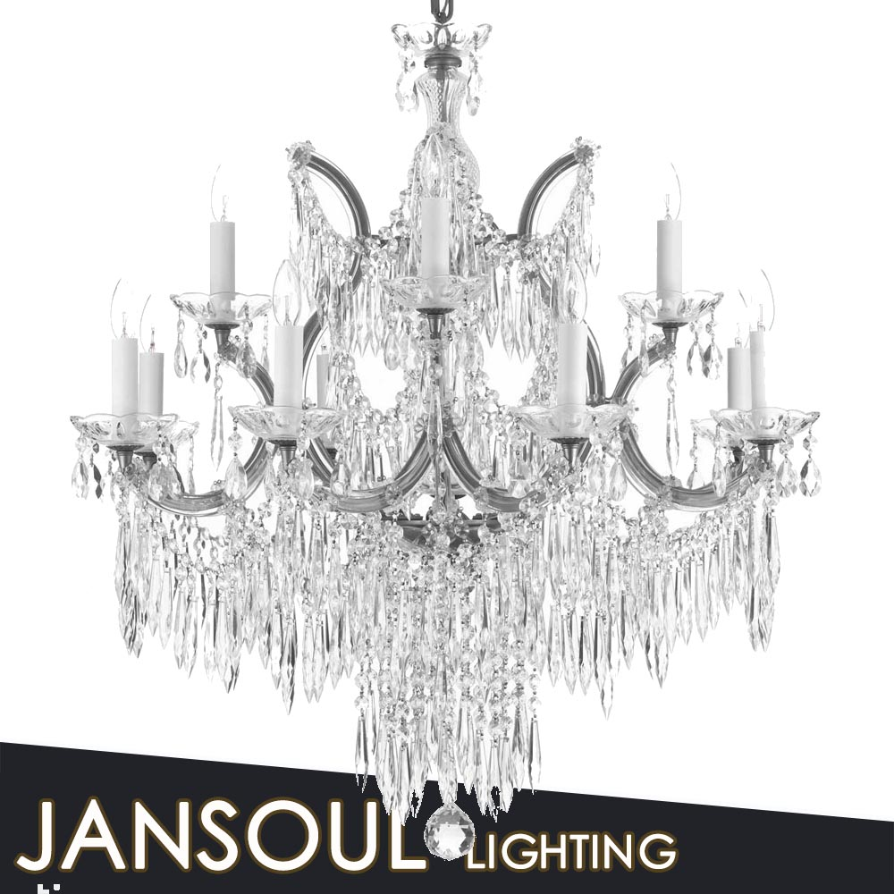 Crystal chandelier parts low price chandelier salon decoration lighting
