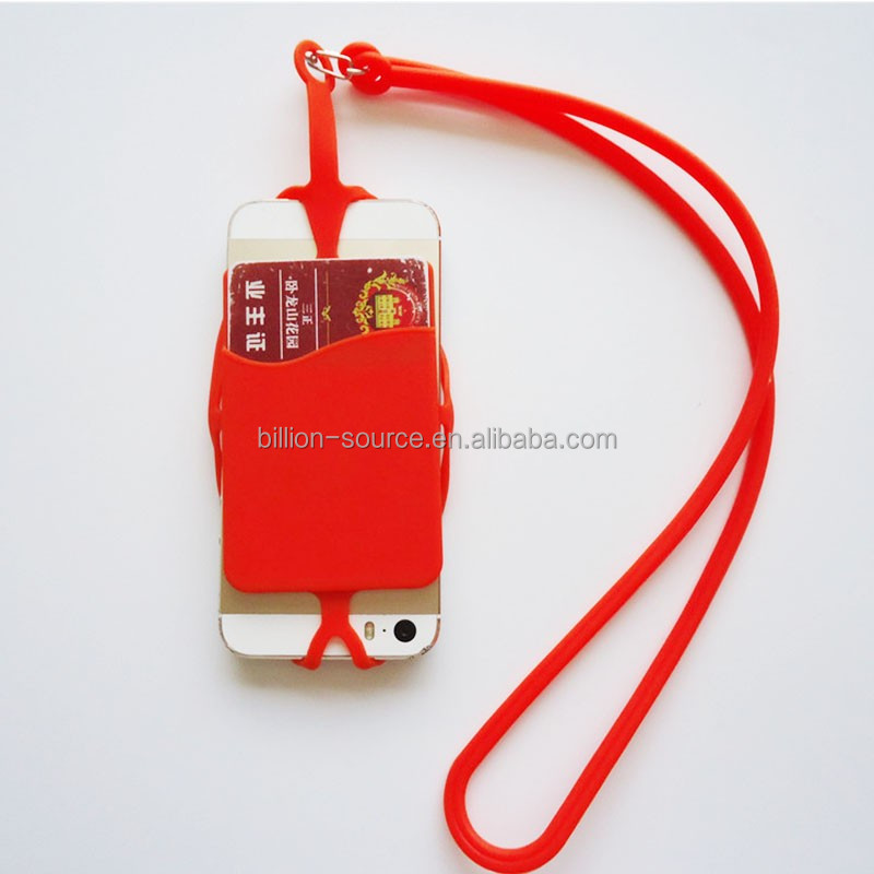 Outside universal plastic name card holder with lanyard