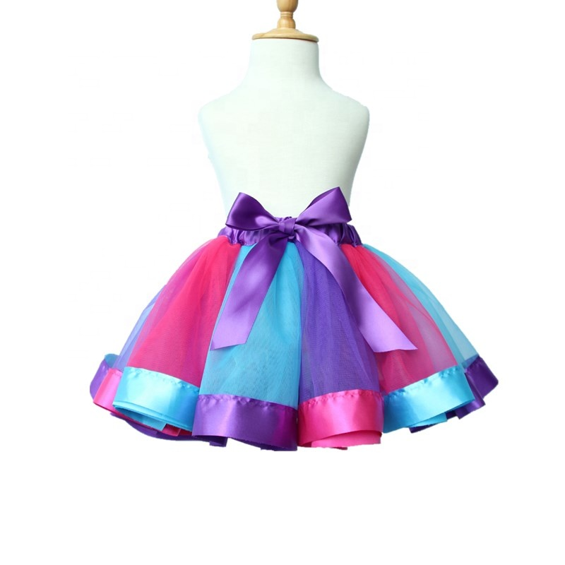 48d7687fc02bd Free Shipping Fancy Dress Kids Rainbow Tutu Skirts Baby Shower Birthday  Party Costume - Buy Tutu Skirts,Fancy Dress,Birthday Party Costume Product  on ...