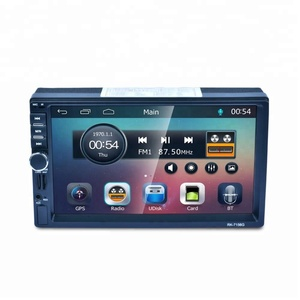 "7.0"" 2 din universal Touch Screen Car MP5 Player with GPS/BT/USB/SD"