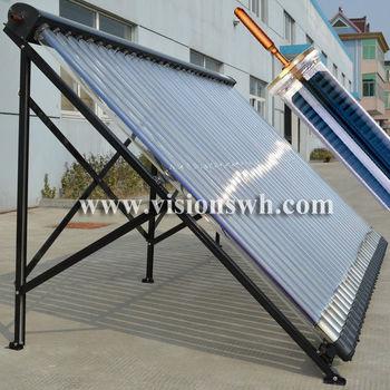 Super Metal Heat Pipe Parabolic Trough Solar Collector