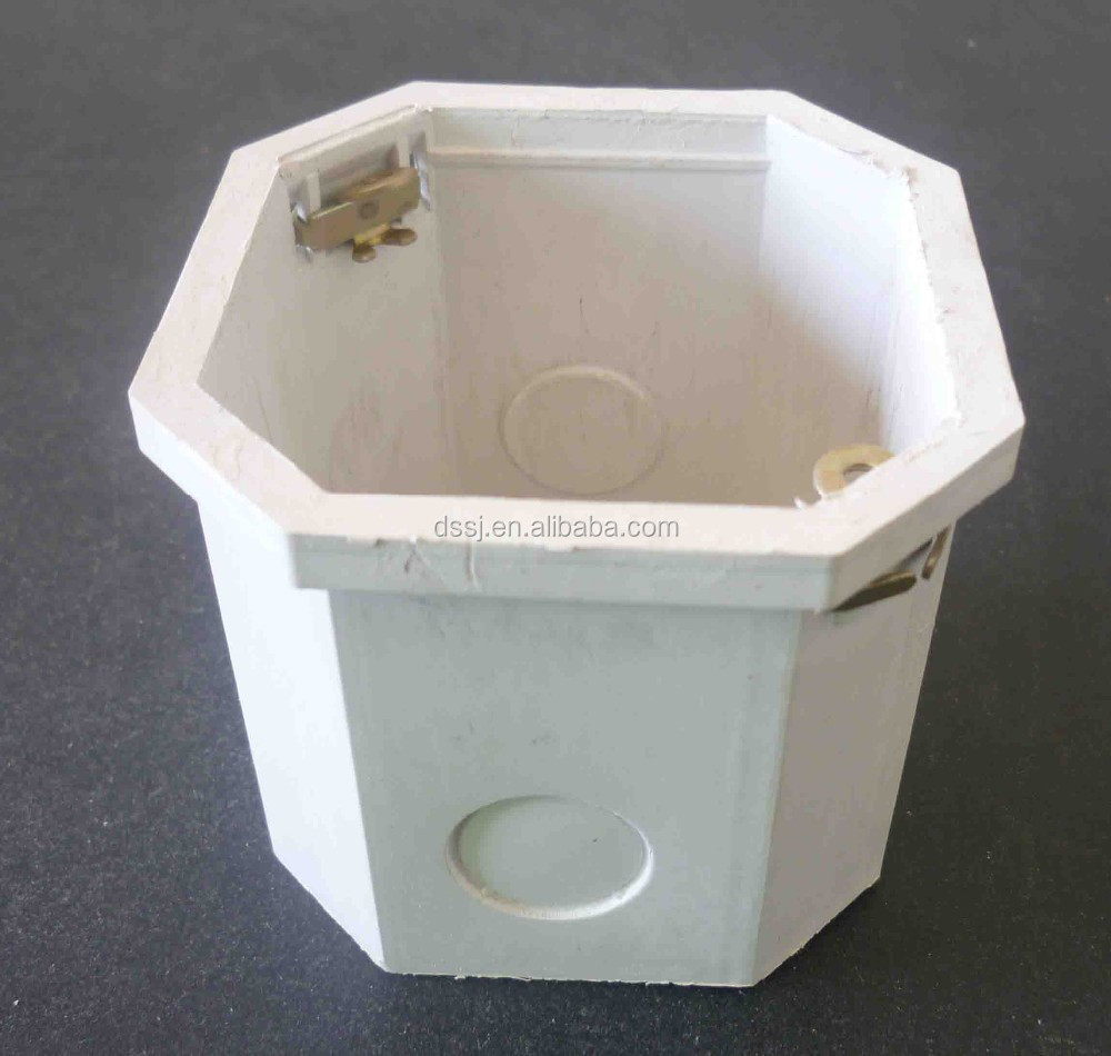 Made in China Competitive Price White Octagonal PVC Switch Box