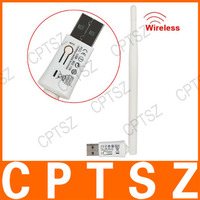 150Mbps Mini WIFI Wireless USB LAN Adapter 150M 802.11n / g / b Wi fi Network Card for PC TV with Antenna Computer Accessories