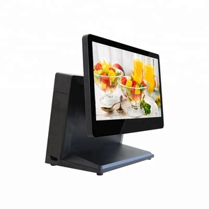 "Retail 15.6"" flat touch Food Ordering machine ALL IN ONE POS SYSTEM"