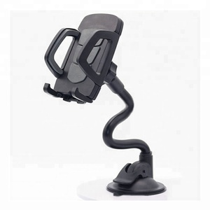 Long Arm Holder Gooseneck Windshield Dashboard Strong Suction Cup Stand Car Phone Mount