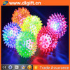 LED flashing ball dog toy ball