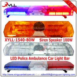 Wholesale 47inch car roof light 88 LED light bar emergency warning ...