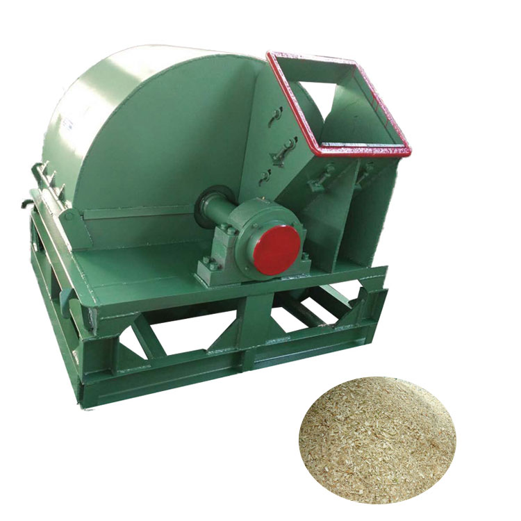 China manufacture offter tree branch crusher wood shaving machine for animal bedding wood crusher pellet machine