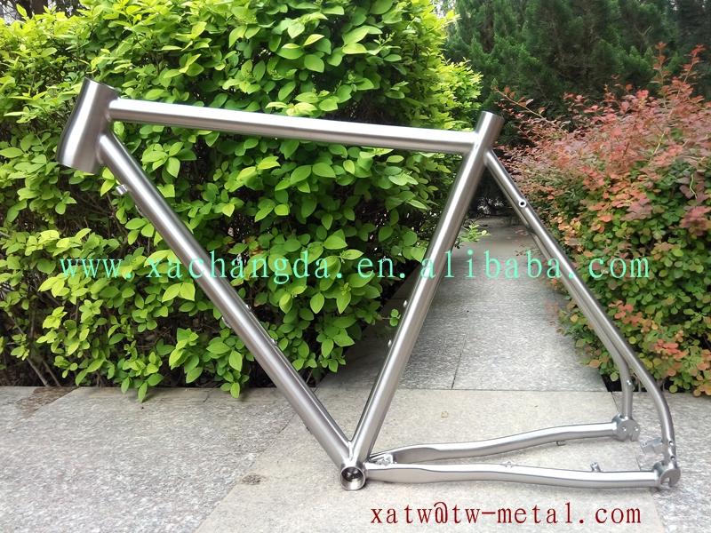 xacd hecha de titanio personalizada ciclocross cuadro de la ...