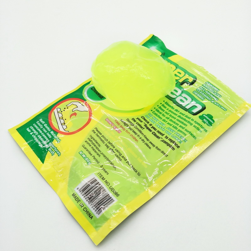 High-Tech green color Magic Dust Cleaner Compound Super Clean Slimy Gel For Phone Laptop Pc Computer Keyboard Car Clean
