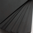 Recycled Laminated Black Cardboard sheet Black Paper sheets Roll