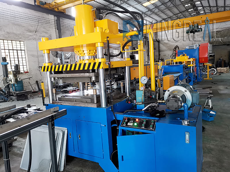 stainless steel drop ceiling tiles making machine production line