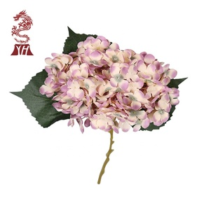 china factory supply christmas flowers artificial hydrangea