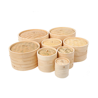Bamboo Steamer for cooking,bamboo steamer basket,Eco-friendly Kitchenware bamboo steamer cooker hot sale