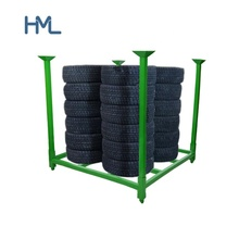 Powder coating heavy duty 창 고 산업 적층 한 collapsible 강 metal pallet 타이어 storage <span class=keywords><strong>랙</strong></span>