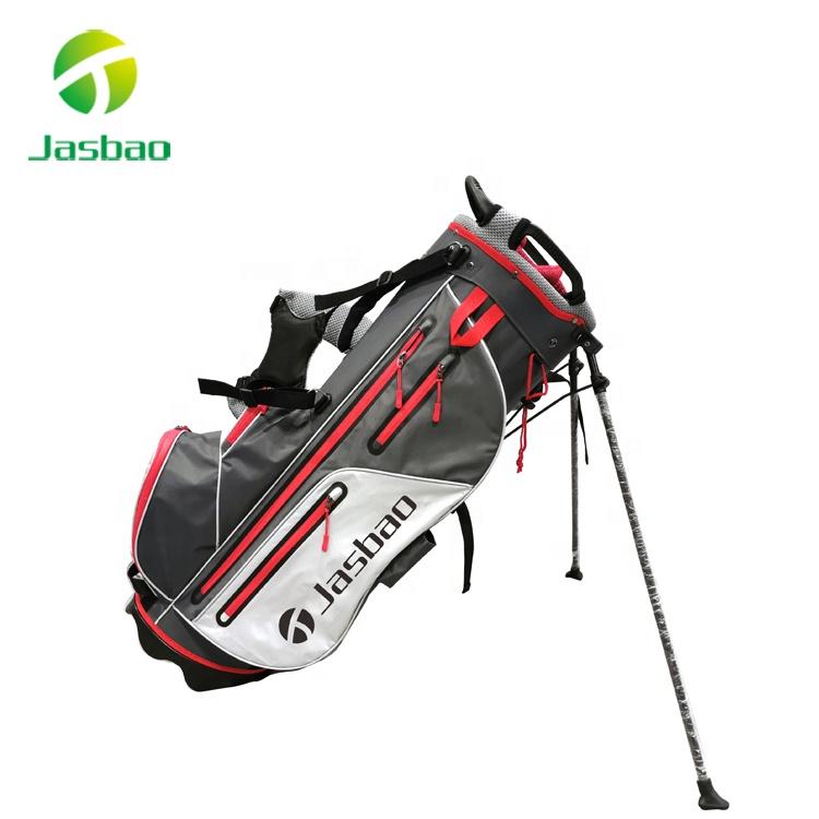 OEM Golf Bag Stand with Waterproof Zipper