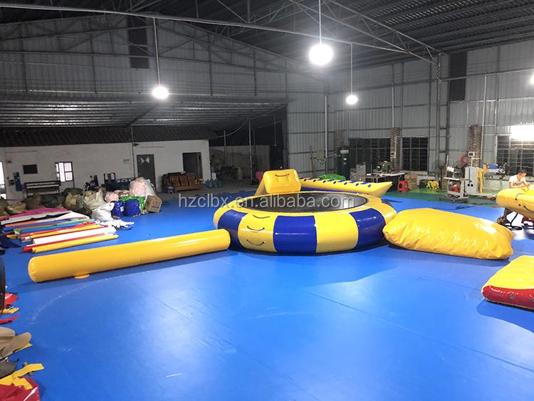Disesuaikan Inflatable Olahraga Air Mainan Air Musim Panas Pesta Permainan Inflatable Apung Jungkat-jungkit Air Jungkat-jungkit untuk Dijual