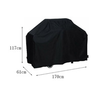 Waterproof 190T 210D 300D 600D bbq gas grill cover bbq cover heavy duty big size