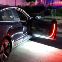 *In Stock* Chedina 144SMD White Red Flashing Shadow Welcome Light Car Door LED Open Warning Light