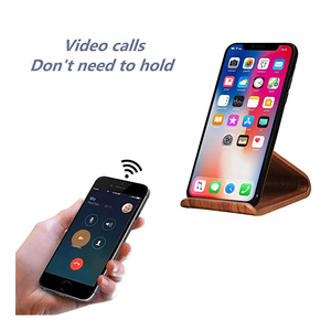 Custom High Quality Mobile Stand Wood Cell Phone Stand