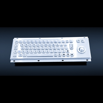IP65 anti vandal metal keys keyboard with touchpad and mouse function