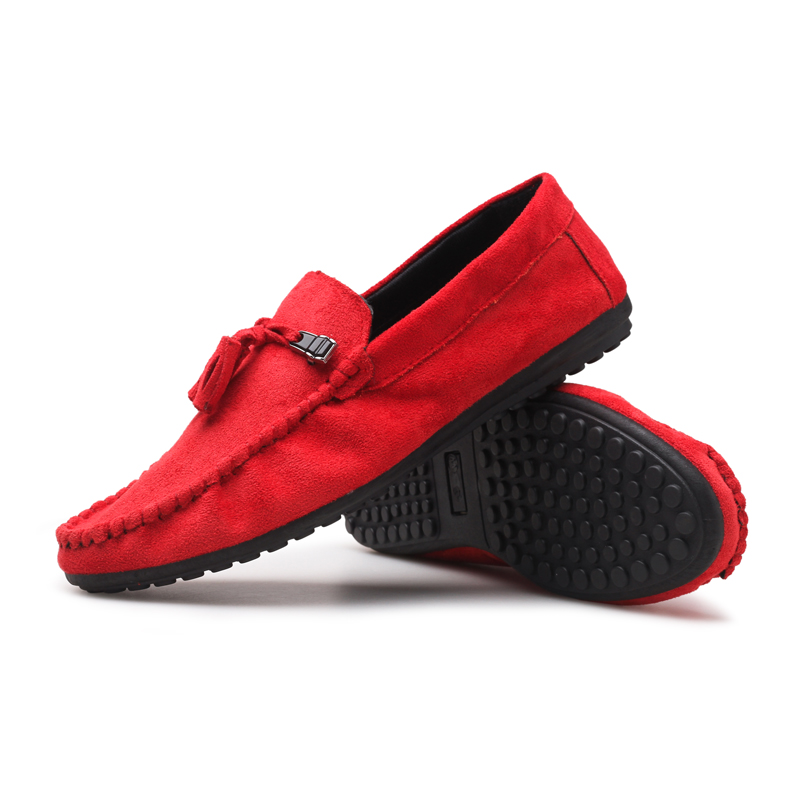 Lightweight Boat Barefoot 2020 High Quality Casual Slip On Mens Tassel Suede Loafers Shoes For men