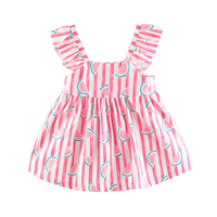 Summer cute cotton blend baby summer dress baby dress girls princess