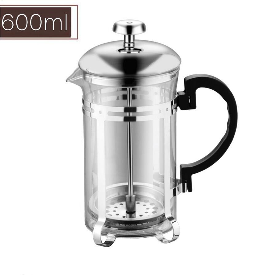 350/600/1000 мл Кофе Чай горшок ручной кофеварки горшок Кофе производитель фильтр для воды горшок Cafetera и Expreso Кофеварка инструмент фильтр для чай...(Китай)