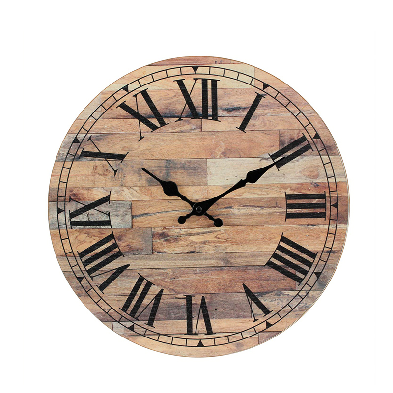 Factory direct high-quality customized luxury cheap wall art clock