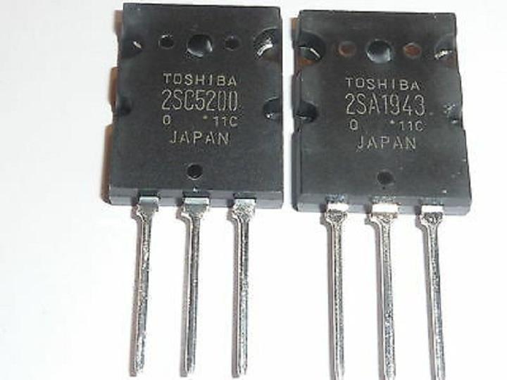 Yeni 2sa1943 2sc5200 orijinal TO-3P ses güç amplifikatörü tüp