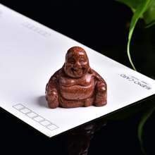 1 шт. буддийские Будда статуя Будды Майтрейи ручной резной статуя Будды религиозных, художественное украшение для дома, коллекция DIY подарок(Китай)