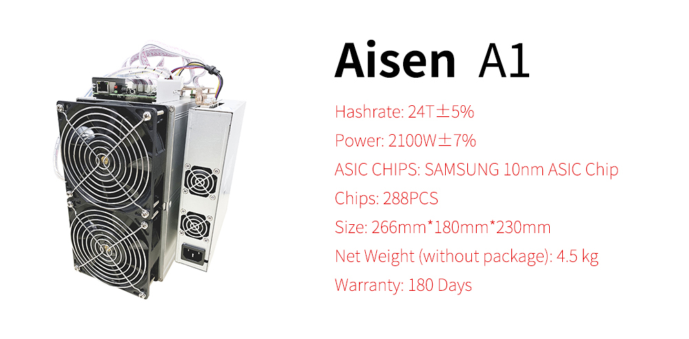 Exceedingly profitable Love Core A1 SHA-256 24T 2100W Aisen A1 cheetah f1 miner bitcoin blockchain mining machine