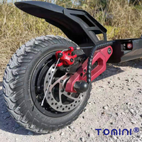 China 3200W dual motor powerful two wheel 10 inch fat tire off road electric scooter for adults