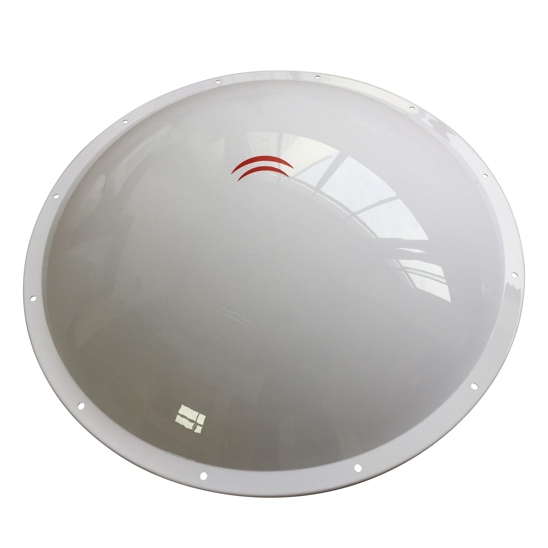hot sale ningbo yuyao vacuum forming communication radome supplier custom 4g radome antena radome white