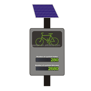 Automatic Bike Parts LED Digital cycle counters