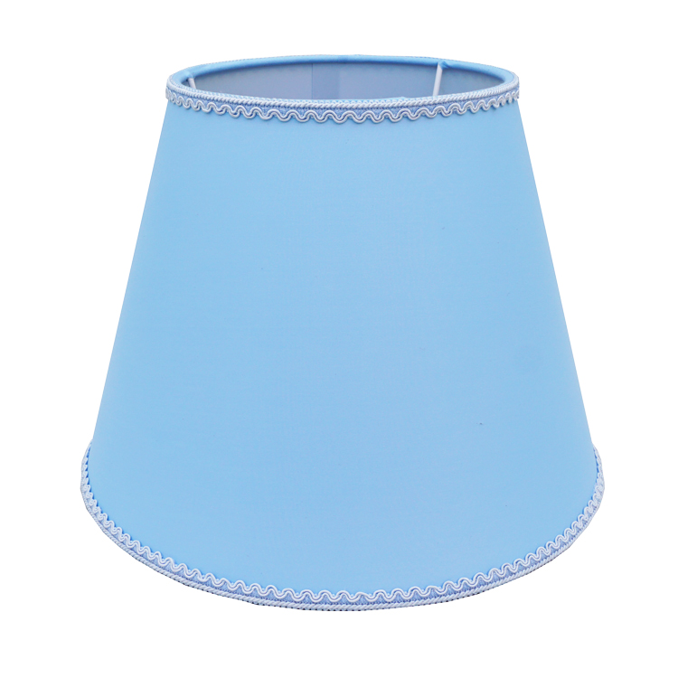 Dongguan Best Selling Portable Hand Made Hardback Hotel PVC+Cloth Table/Floor Fabric Lamp Shade