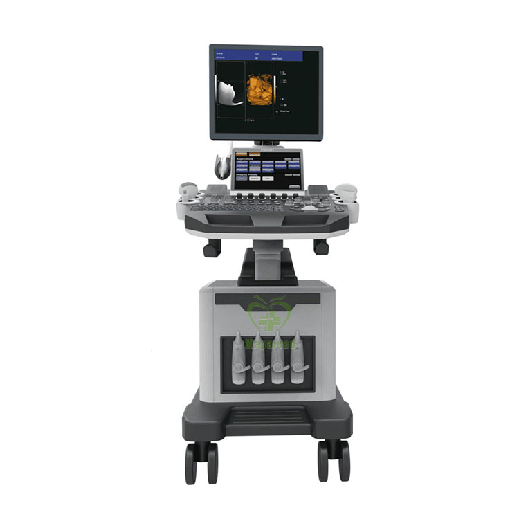 NEW Diagnostic Ultrasound System MY-A028D-N Medical Trolley 4D & CW Functions Color Doppler with Various Transducers