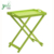 Different color Portable Wood Bamboo Folding Coffee Snack Tea Serving Stand