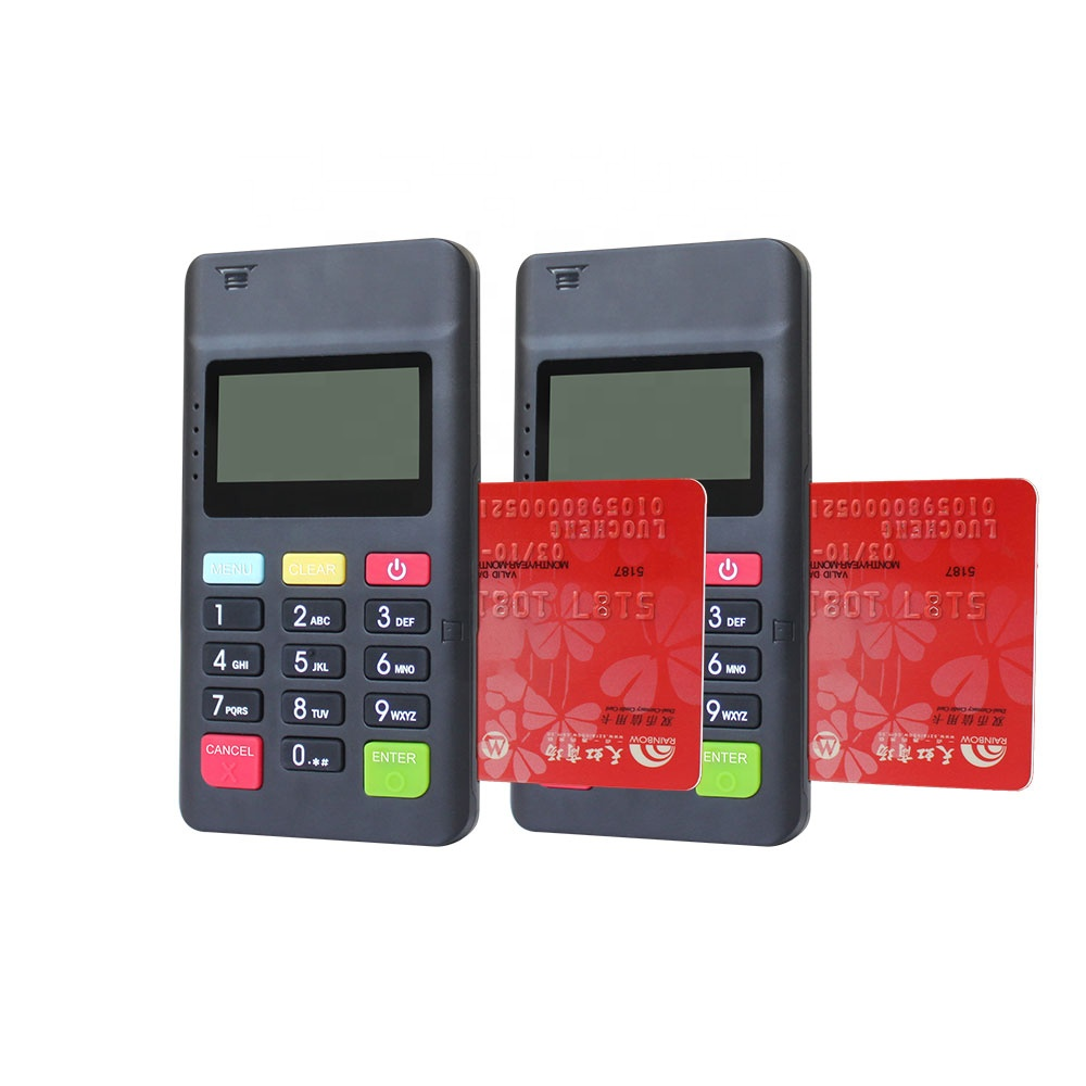 Bluetooth  mobile payment device with pinpad mpos MPOS