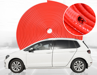 U shape Auto door seal adornment car door anti-collision rubber noise insulation Article edge impact protection seal strips