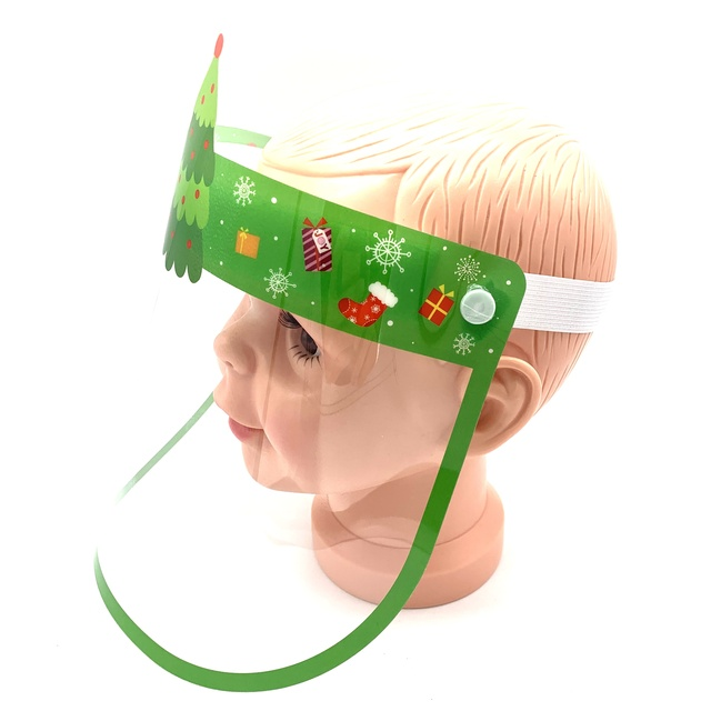 Christmas Tree Supply 2021 2021 Factory Supply New Arrival Christmas Tree Plastic Cartoon Character Full Screen New Fashion Face Shield Mask For Dental Buy Mask With Shield Face Fashion Face Shield Mask Face Shield For Dental Screen
