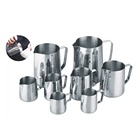 Custom espresso latte art motta garland frother barista stainless steel coffee frothing pitcher milk jug