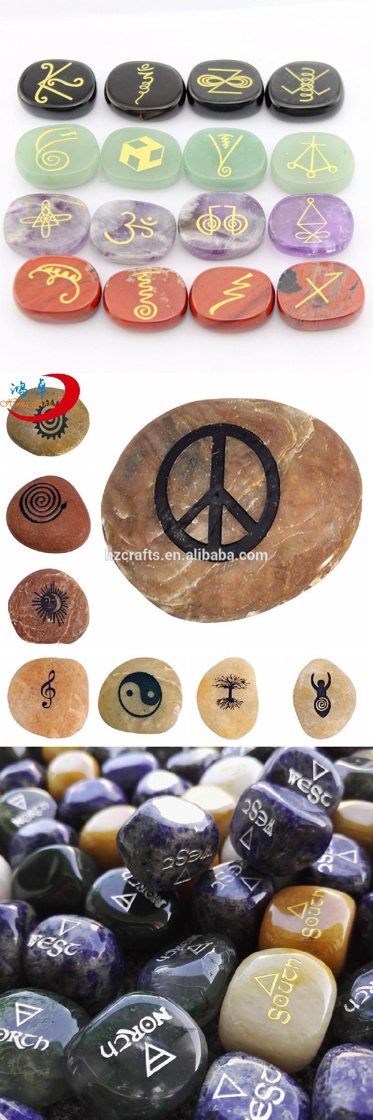Healing engraved inspirational word stones | buy wholesale stone therapy products