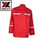 Custom Industrial Safety Work Modacrylic Working Jackets For Men